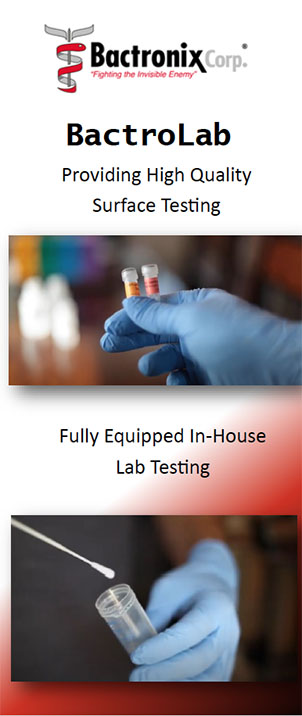 High Quality COVID and Virus Surface Testing